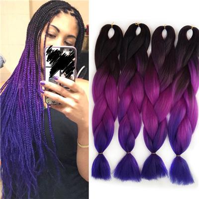 dark and purple blue