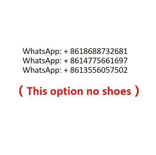 Esta opção sem sapatos