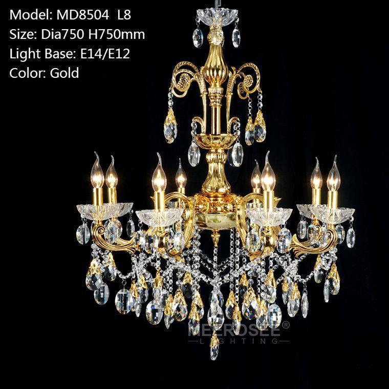 Gold color D750mm H750mm L8