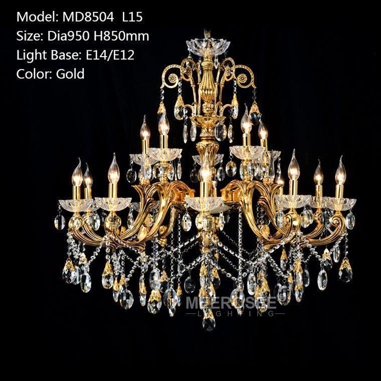 Gold color D950mm H850mm L15