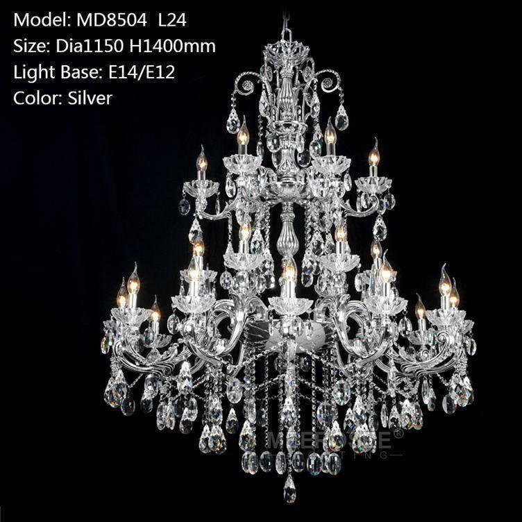 Silver color D1150mm H1400mm L24