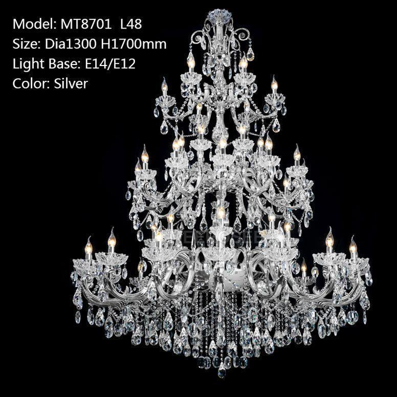 Silver color D1300mm H1700mm L48