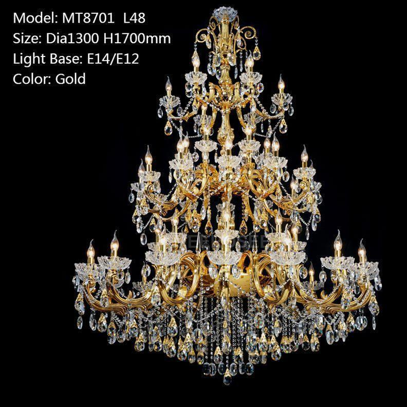 Gold color D1300mm H1700mm L48