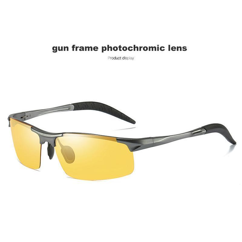 Gun frame yellow lens