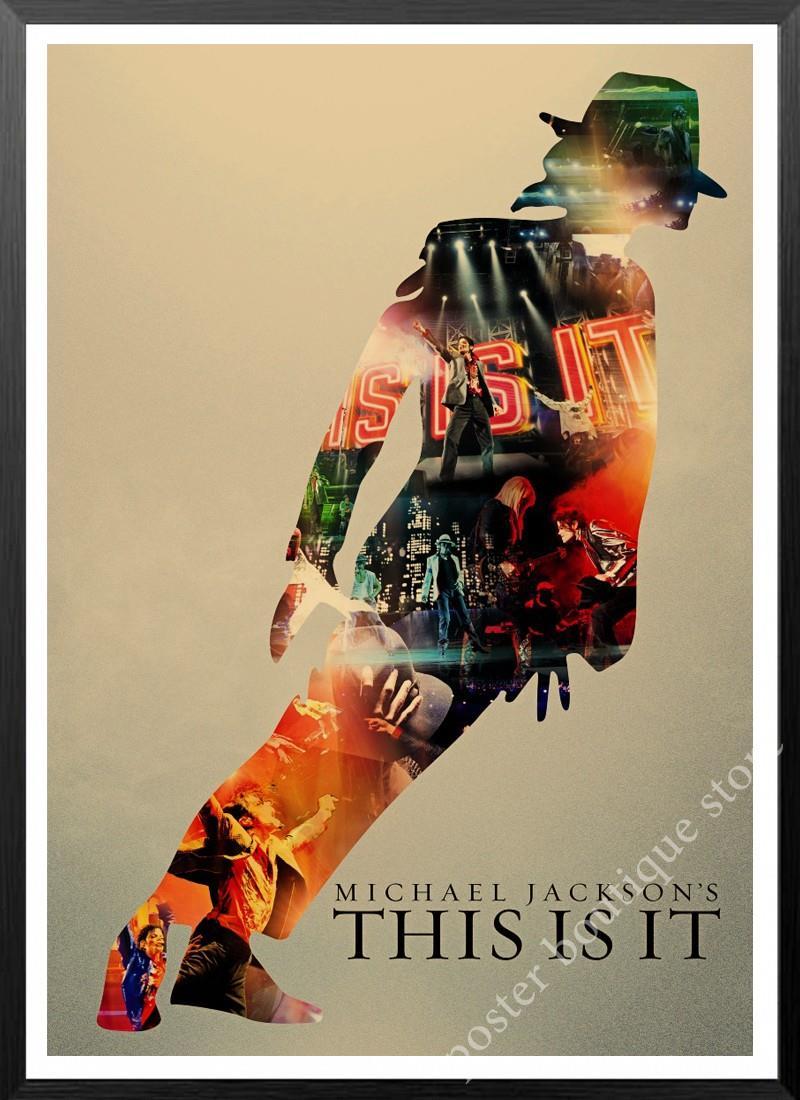 Michael Jackson Poster Wall Decor Music Poster Poster Music Decor Gift Ideas Michael Jackson Art Kraft Paper Wall Sticker From Qiansuning888 51 98 Dhgate Com