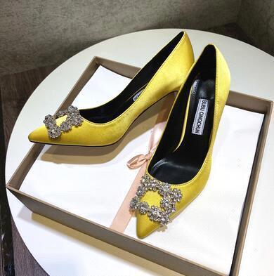 Yellow (heel height: 8 cm)