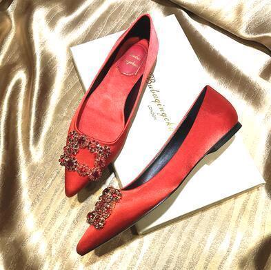 Red (flat heel)