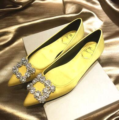 Yellow (flat heel)