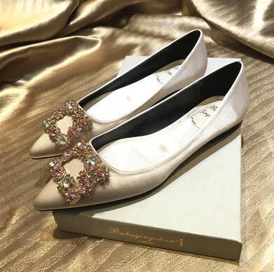Champagne (flat heel)