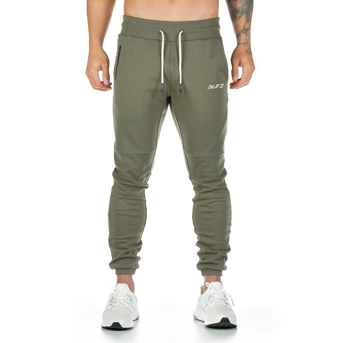 Army Green White Label