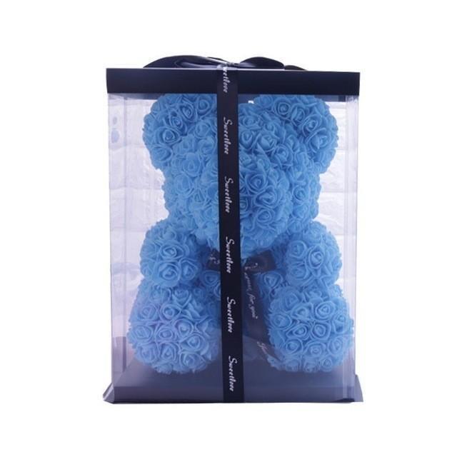 bleu ciel 25cm avec boîte