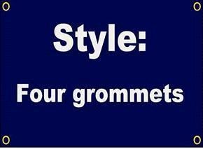 4 Grommets
