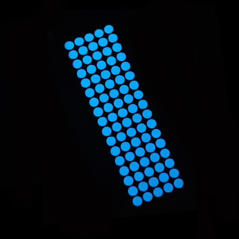 85pcs puntini blu