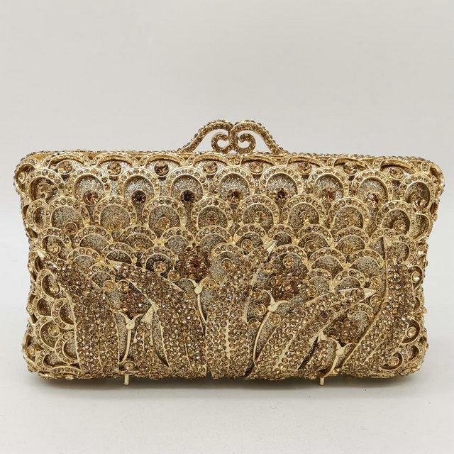 Gold Crystal Bag
