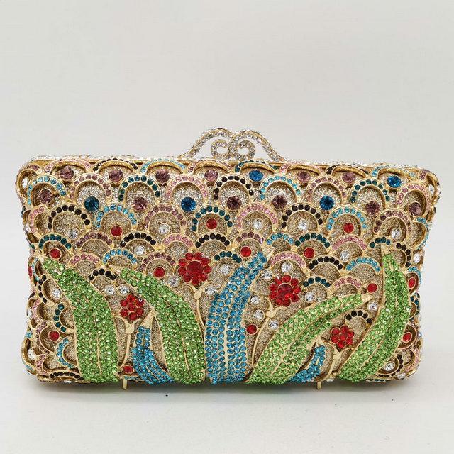 Colorful Crystal Bag