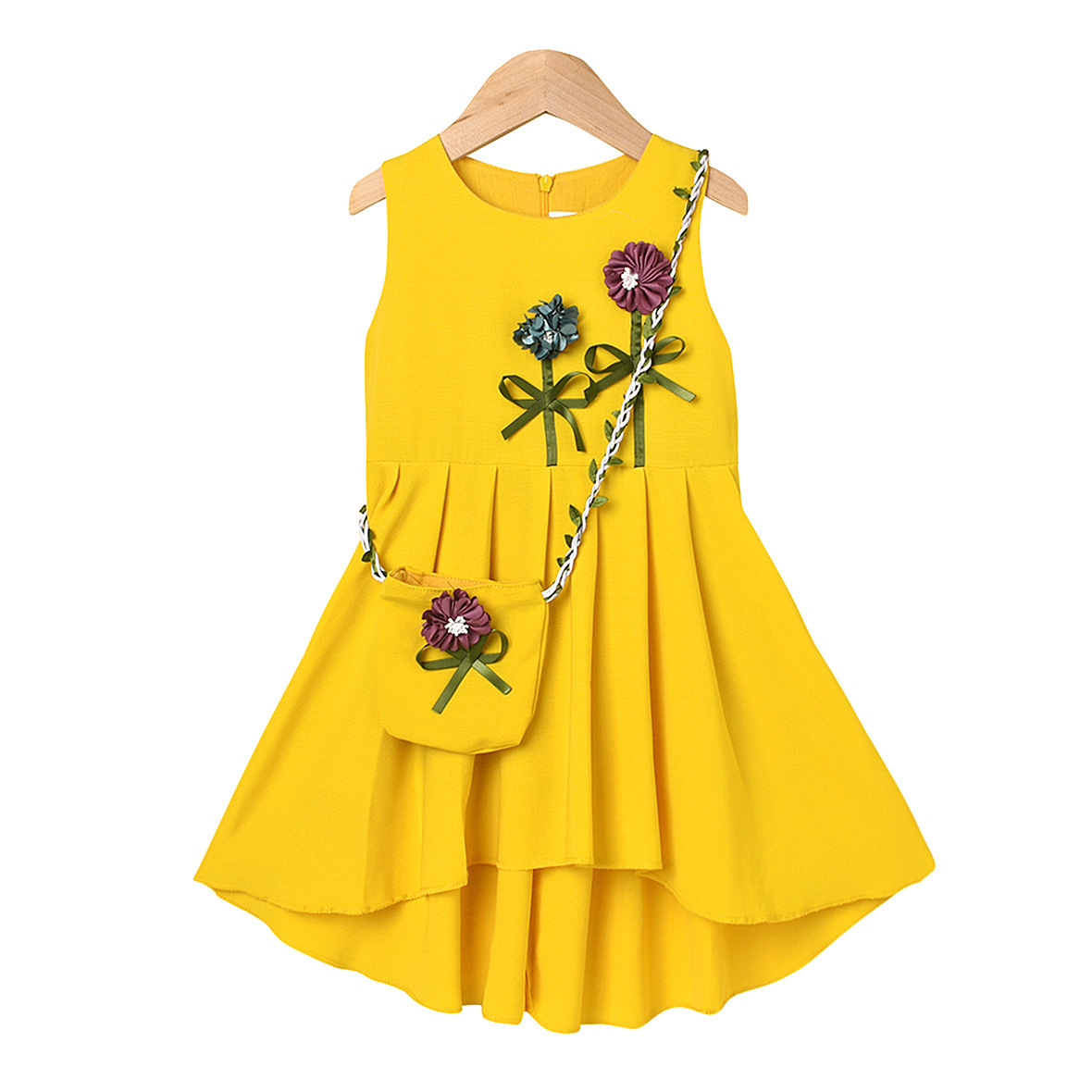 Bolsa N28 vestido amarillo
