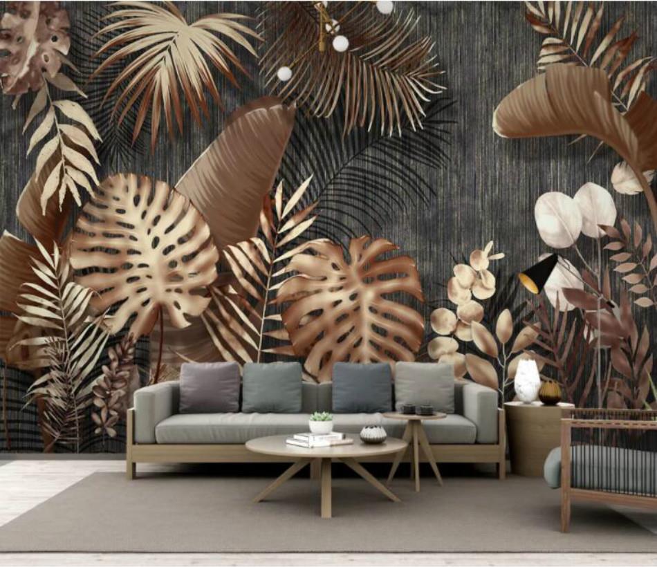 Compre Minimalista Moderno Retro Papel Parede Wallpapers Pintura Decorativa Luz Custom Home Improvement Pano 3d Wallpapers De Offworld 167 61 Pt Dhgate Com