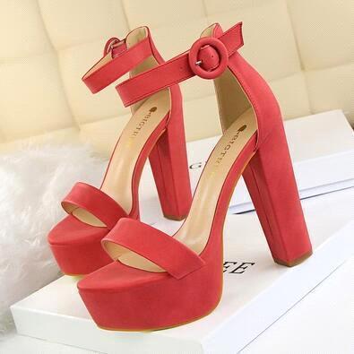 Kırmızı (Topuk 13 cm)