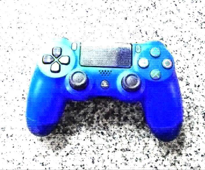 azul con logo