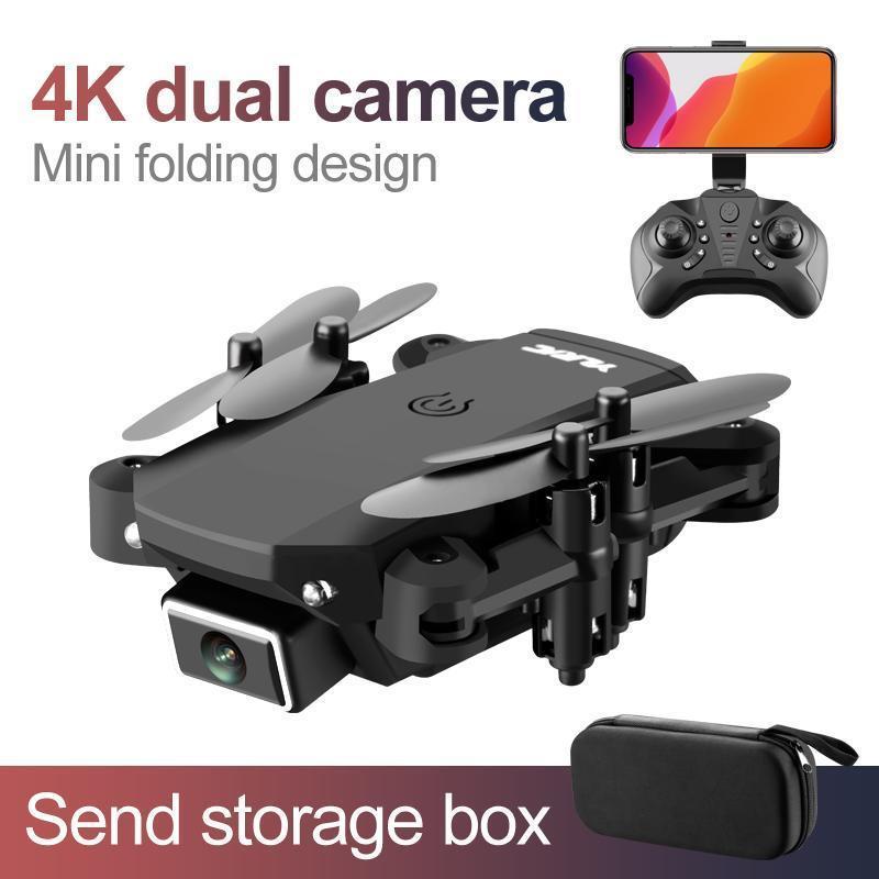 Cámara 4K Negro dual