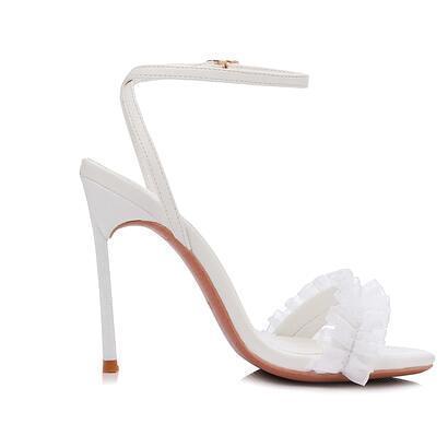 Weiß (Heel Höhe 10 cm)
