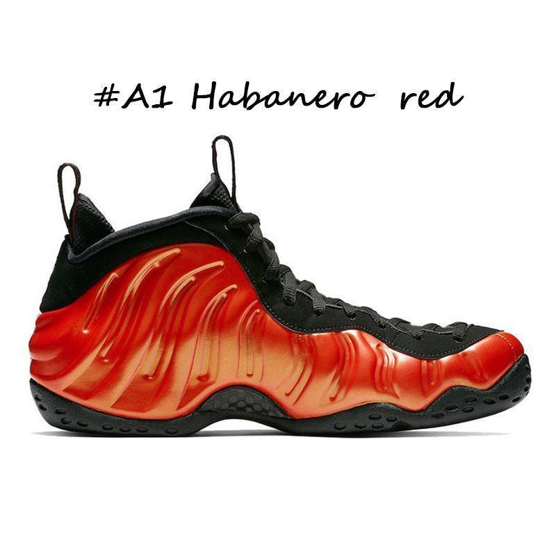 #A1 Habanero red