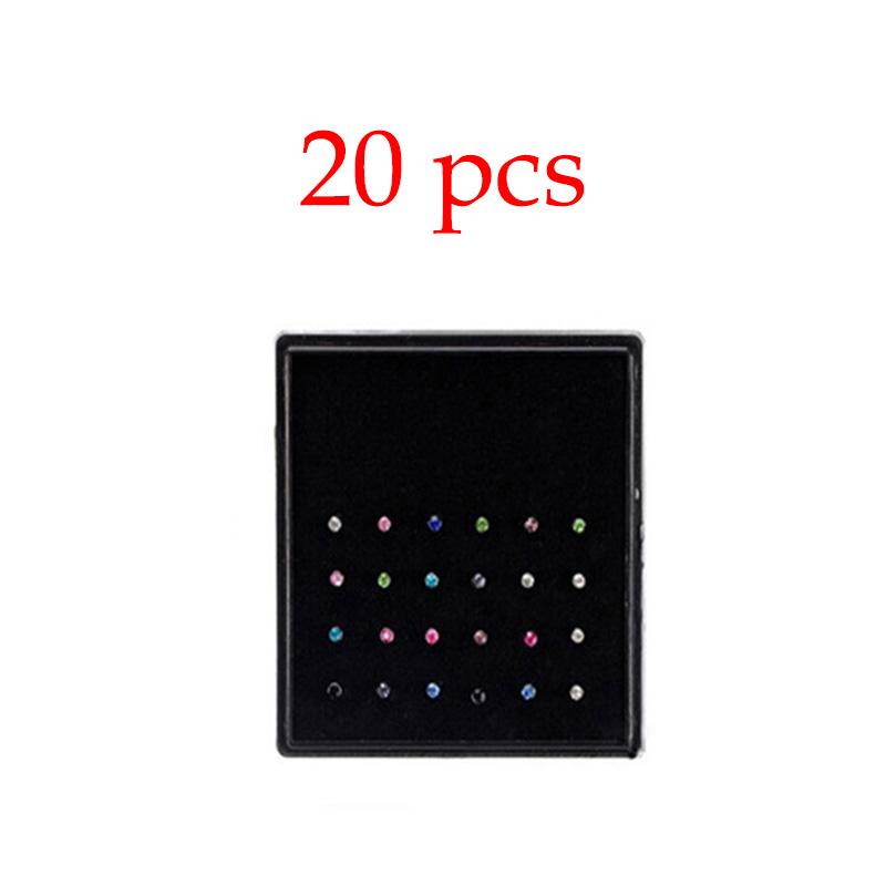 20pcs multicolore