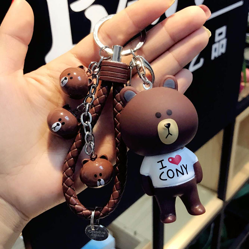 Limited Edition Brown Bear Head Bell Cof