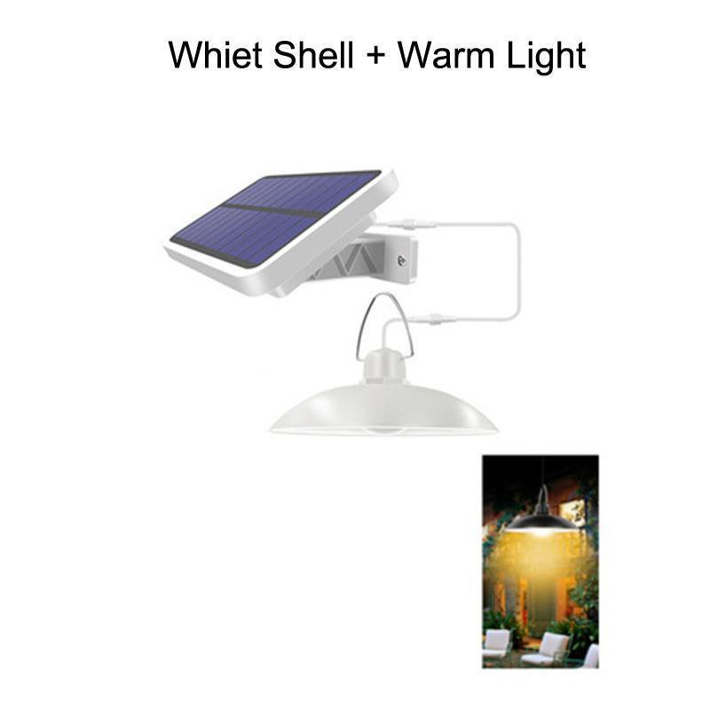 Bir Whiet Kabuk + Sıcak Işık