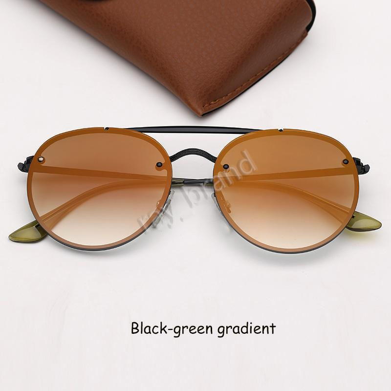 Siyah-yeşil degrade