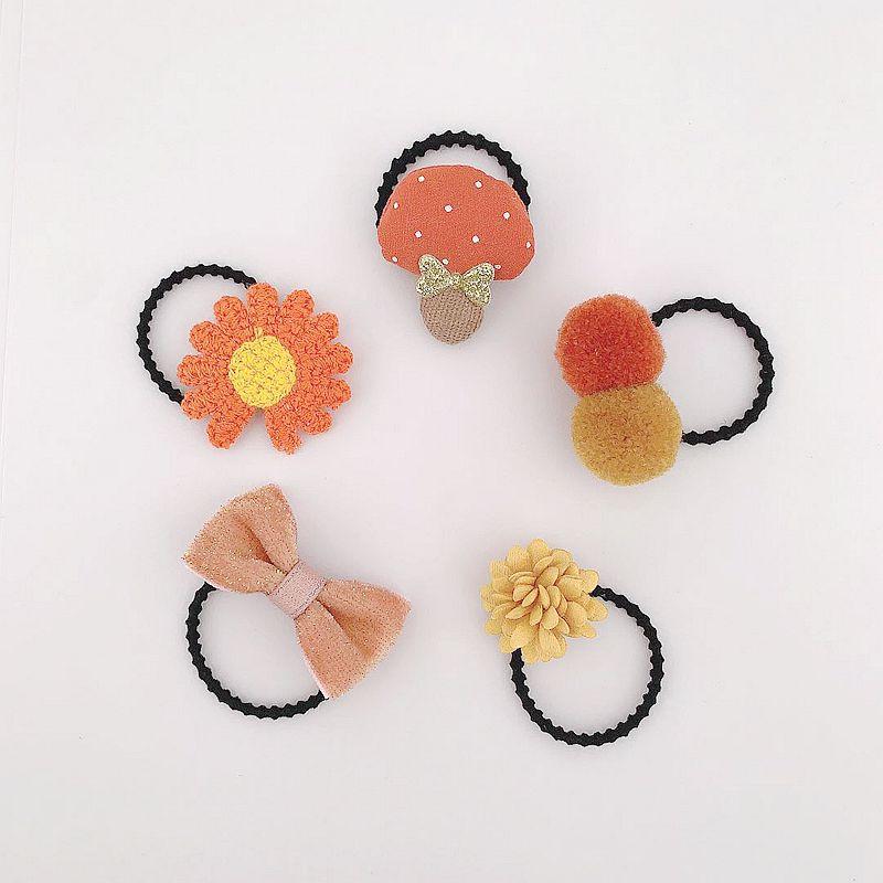 أورانج زهرة الفطر نمط