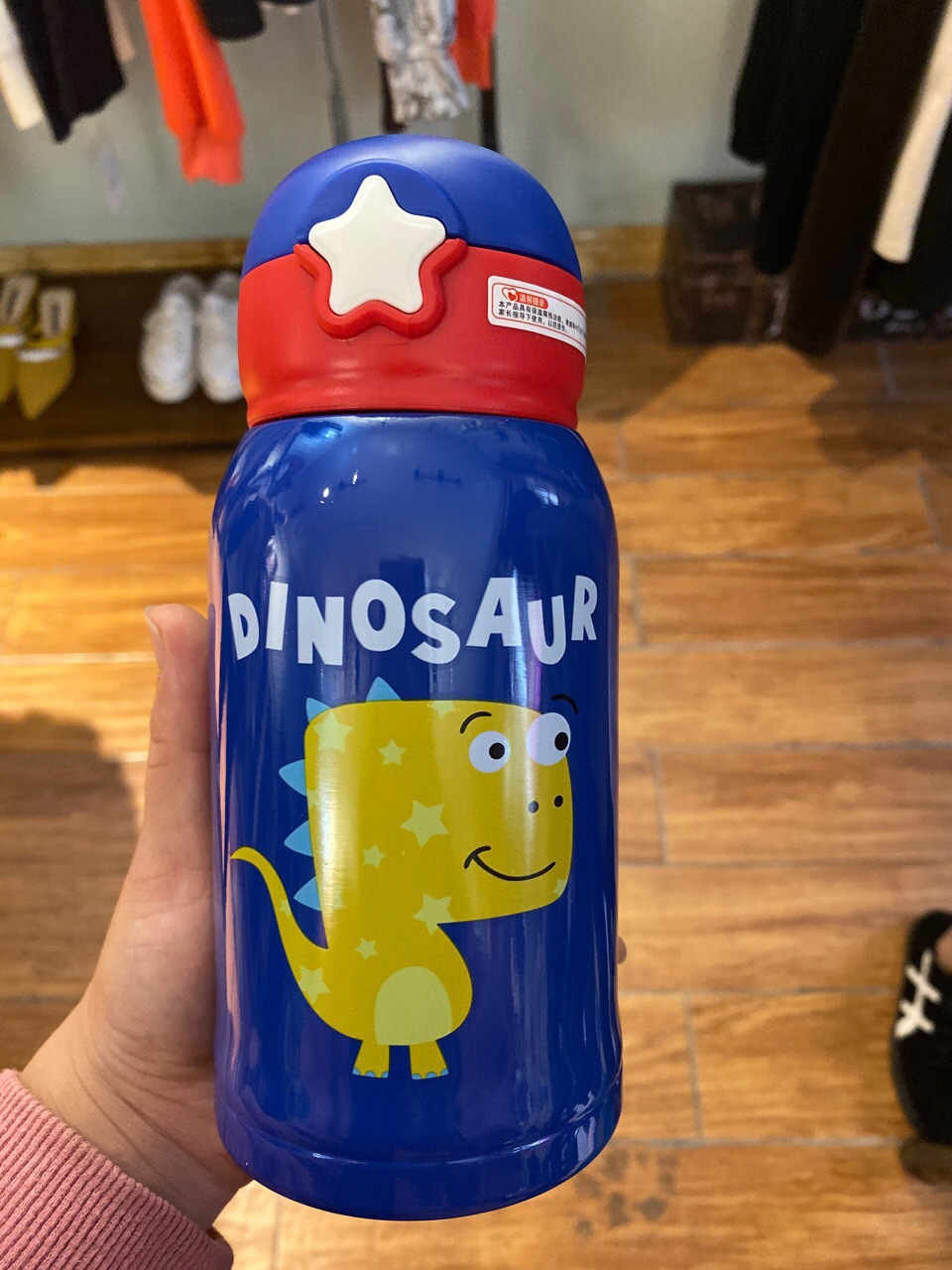 Blue Little Dinosaur 500 Ml