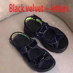 Velvet noir + lettres