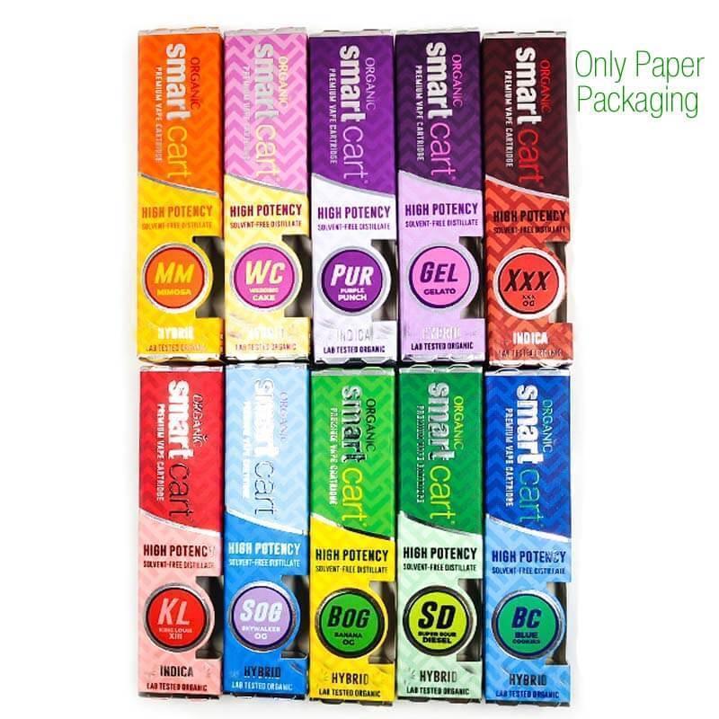 Solo embalaje de papel (envío por paquete electrónico)