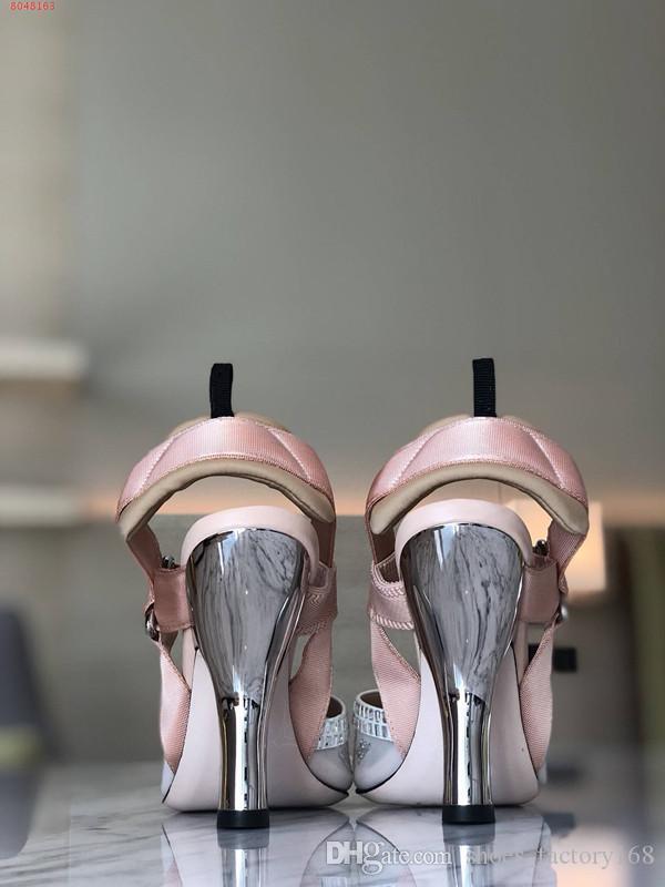 Pink high heels 9.5cm