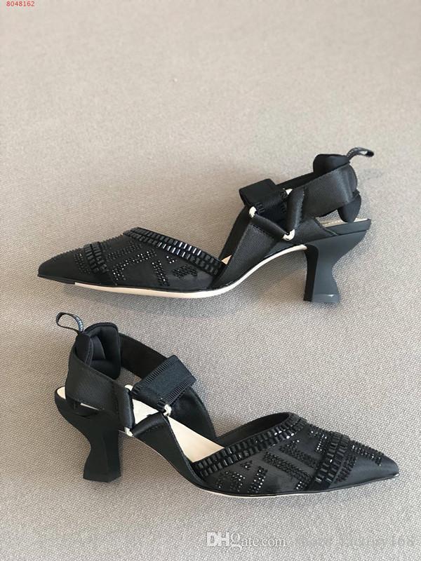 black high heels 5.5cm