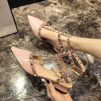 Pink (Lackleder) Heel 3 cm