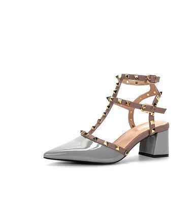 Gray (Lackleder) Heel 5,5 cm