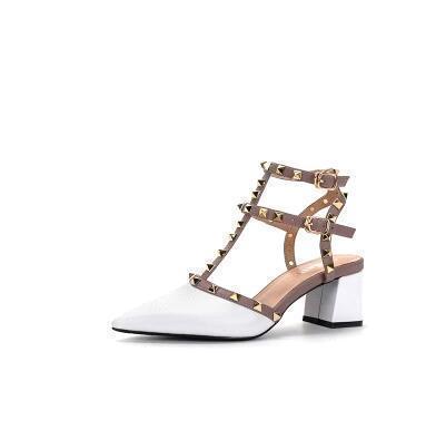 White (Lackleder) Heel 5,5 cm