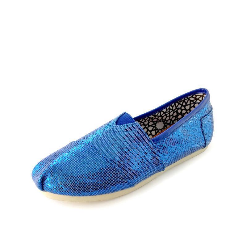Glitter bleu foncé