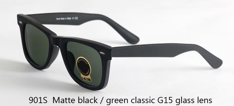 G01 classico nero / verde opaco 901S