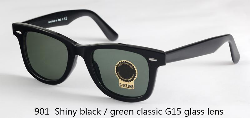 901 classico nero / verde lucido G15