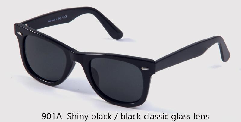 901A len classico vetro nero / nero lucido