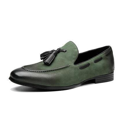 Green (Nubukleder)