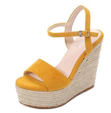 Yellow (Heel 12 cm)