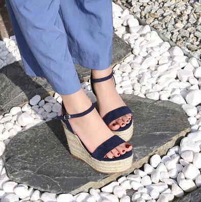 Blau (Heel 10 cm)