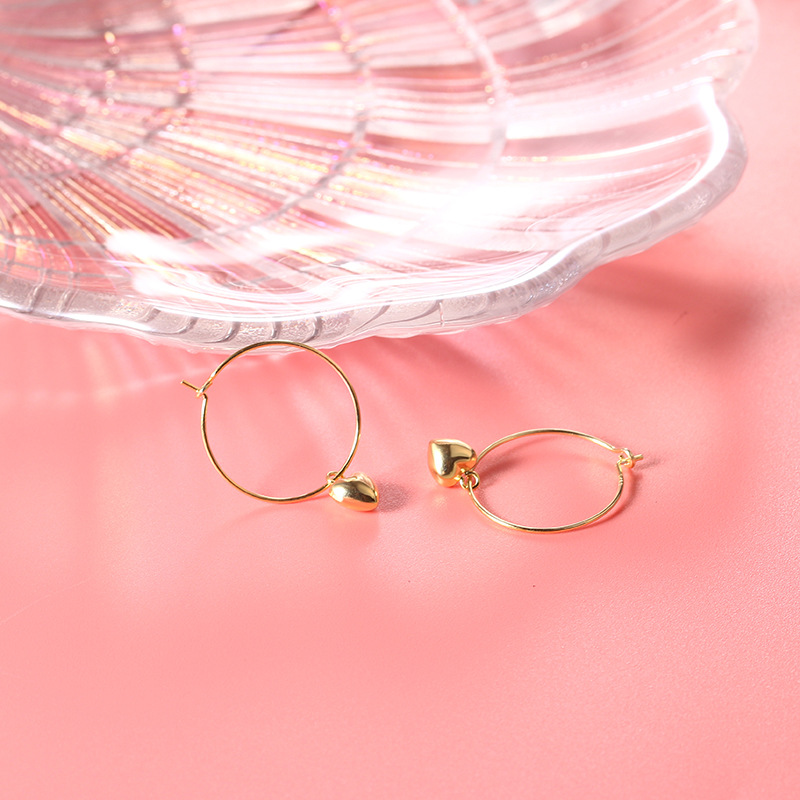 Lovely Earrings Earrings (18K 925 Silver