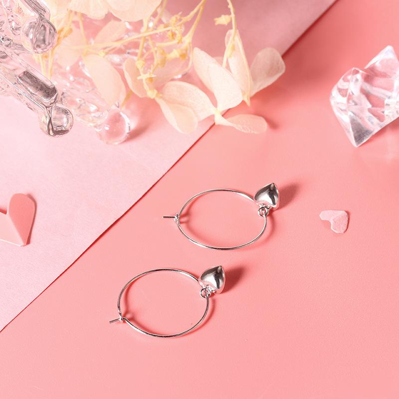 Love Earrings Earrings (Plati 925 Silver