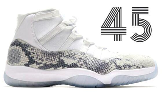 High White Grey Snakeskin