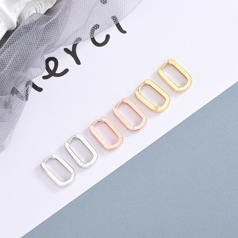 ES951-1 Platinum 925 Silber